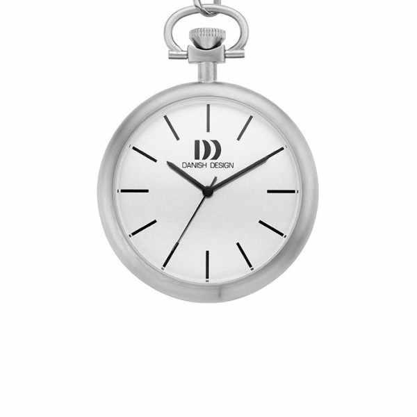 Design, Bauhaus, Taschenuhr, Quartz, weiss_10018