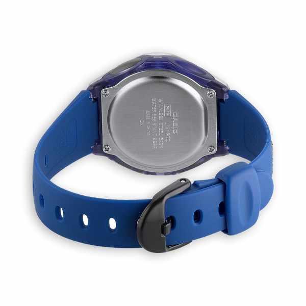CASIO, LCD Illuminator Sportuhr klein, silber-blau_10406