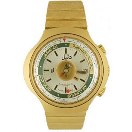 DALIL Swiss, Monte Carlo 2, Kompassuhr, Automatik, gold