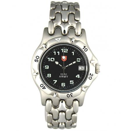 SWISS ARMY, Spirit, Quartzuhr, schwarz_10858
