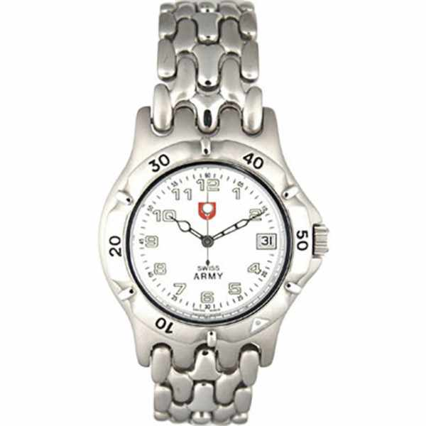 SWISS ARMY, Spirit, Quartzuhr, weiss_10859