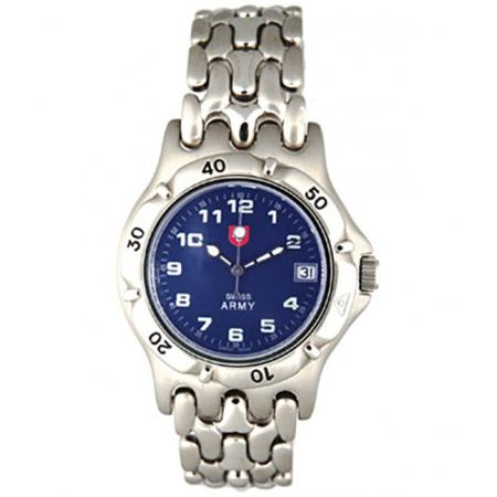 SWISS ARMY Spirit Quartzuhr, blau