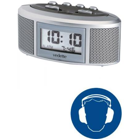 VEDETTE Power Alarm extra lauter digital Wecker