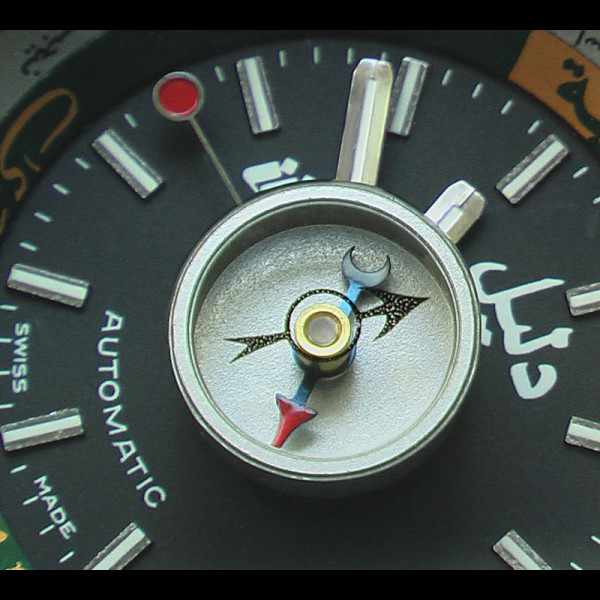 DALIL Swiss, Monte Carlo 2, Kompassuhr, Automatik, schwarz_10979