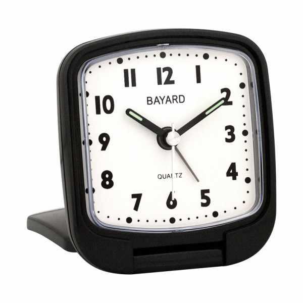 BAYARD Reisewecker Crescendo Quartz, schwarz_11025