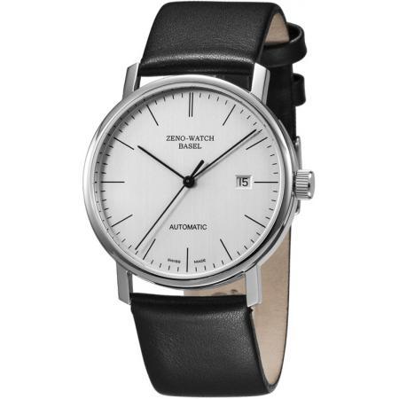 ZENO-WATCH BASEL, Bauhaus Edelstahl, Automatik Uhr, silber_11069