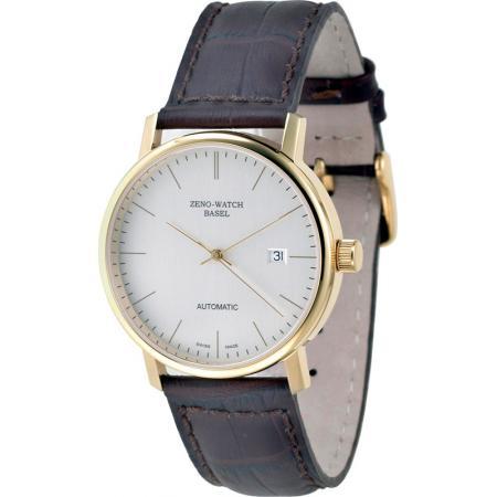 ZENO-WATCH BASEL, Bauhaus vergoldete Automatik Uhr_11085
