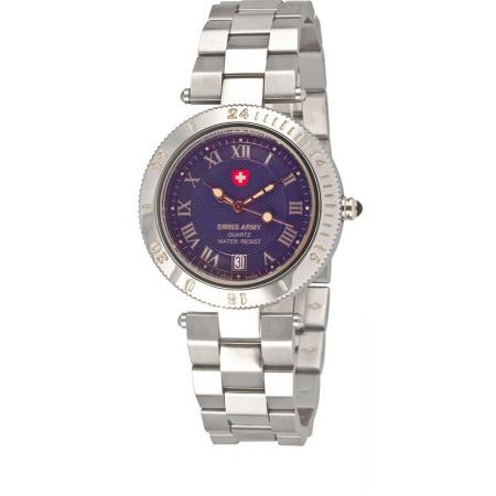 SWISS ARMY Brigadier Lady Quartzuhr, blau