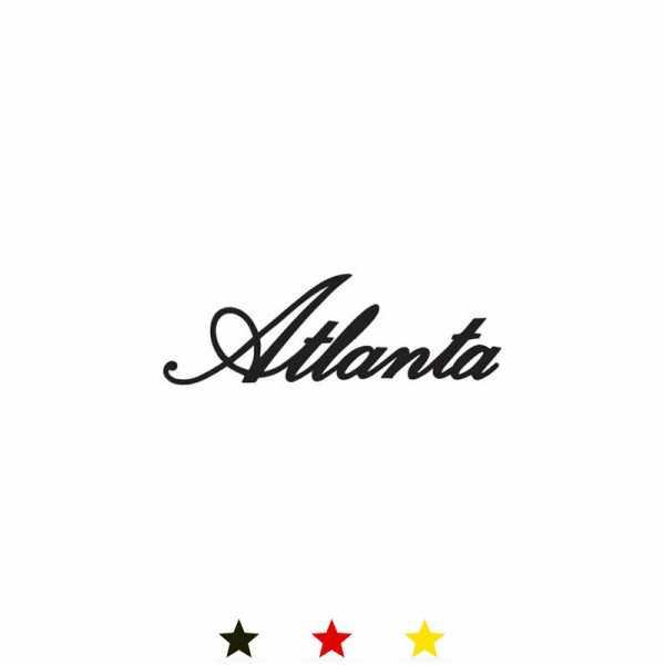 ATLANTA, Arc Classique, Funkwecker Silent, silber_11668