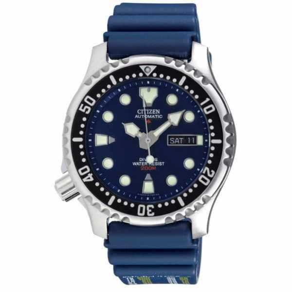CITIZEN Promaster Sea, Diver Automatik Taucheruhr blau_1176