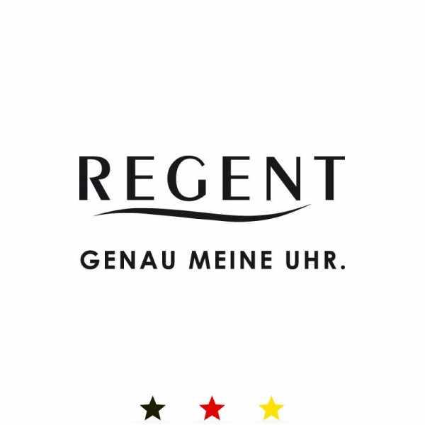 Klassik Taschenuhr Handaufzug, Regent Skelett vergoldet klein_11776