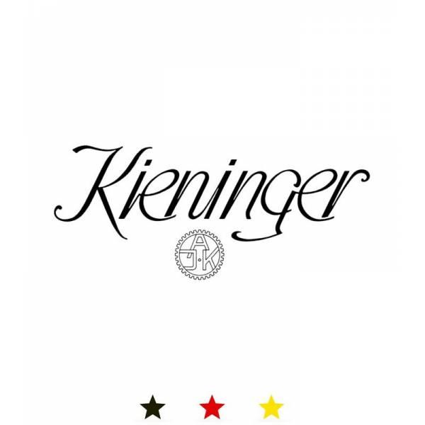 KIENINGER, Arc Skelett, mechanische Tischuhr mit 3 Melodien, gold_11792