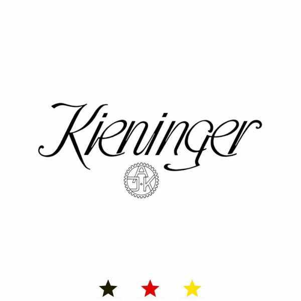 KIENINGER, Arc Skelett, mechanische Tischuhr mit 3 Melodien, chrom_11793