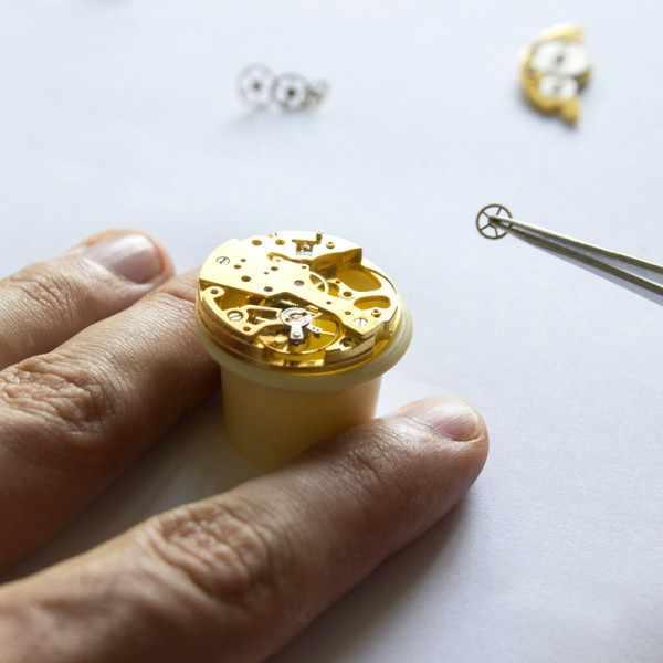 Klassik 8 Tage Taschenuhr, Sterling Silber vergoldet römisch_11869