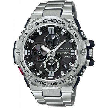 G-SHOCK, GST Steel, Bluetooth Solaruhr, Edelstahl_12357