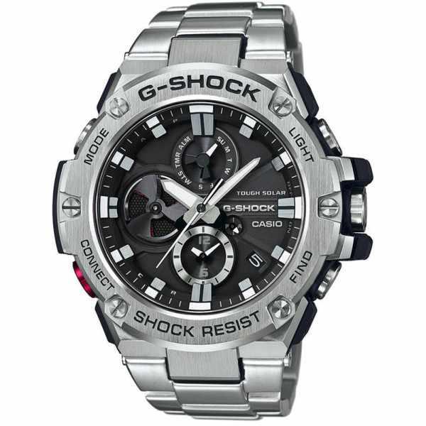 G-SHOCK GST Steel, Bluetooth Solaruhr, Edelstahl_12357