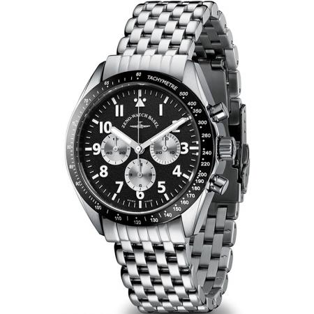 ZENO-WATCH BASEL, Lemania Handaufzug Chronograph_12642