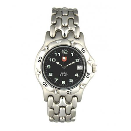 SWISS ARMY, Spirit Lady, Quartzuhr, schwarz_12713
