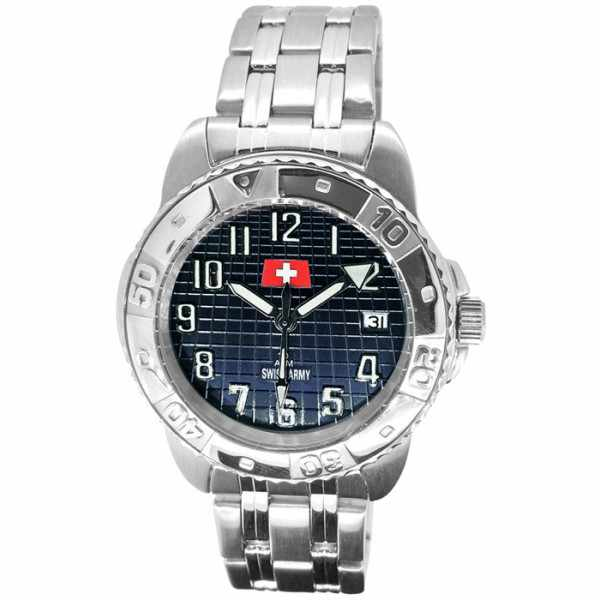 SWISS ARMY, Sporty, Quartzuhr, schwarz_12719