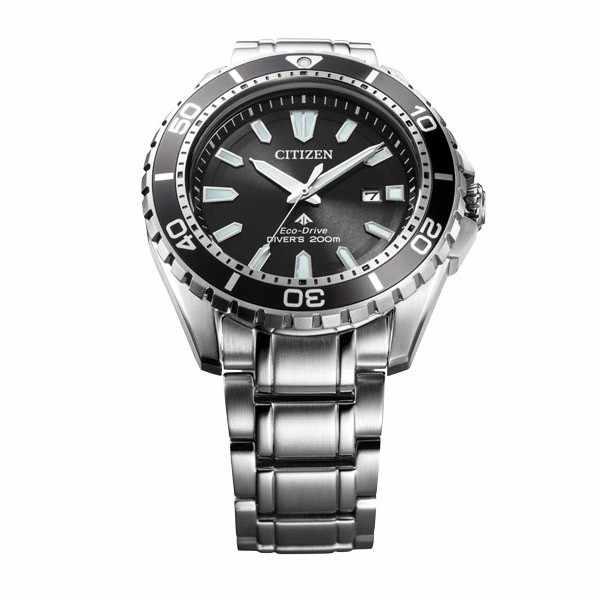 CITIZEN Promaster Eco-Drive Diver, Solar Taucheruhr, Stahl_12824