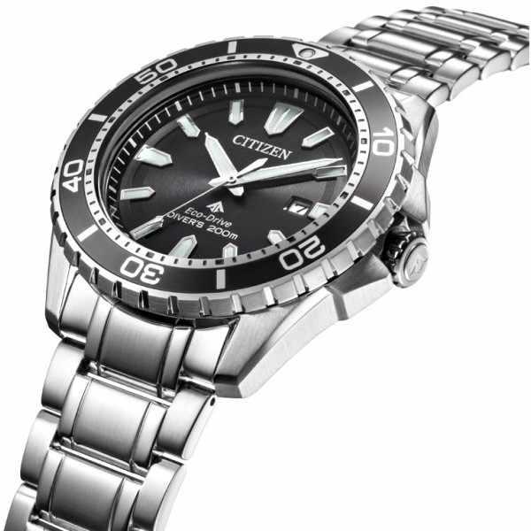 CITIZEN Promaster Eco-Drive Diver, Solar Taucheruhr, Stahl_12825