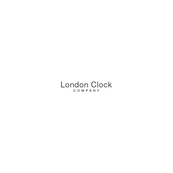 LONDON CLOCK, Skelett, Tischuhr, Quartz_12896