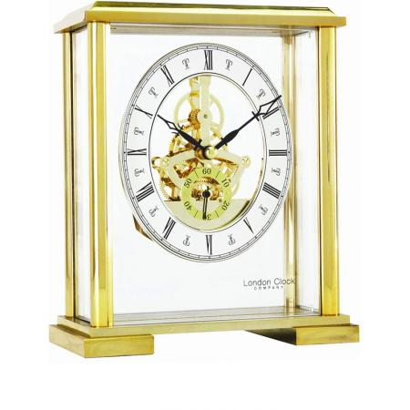 LONDON CLOCK, Skelett, Tischuhr, Quartz_12920