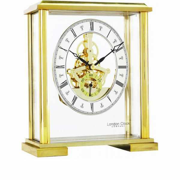LONDON CLOCK, Skelett, Tischuhr, Quartz_12920