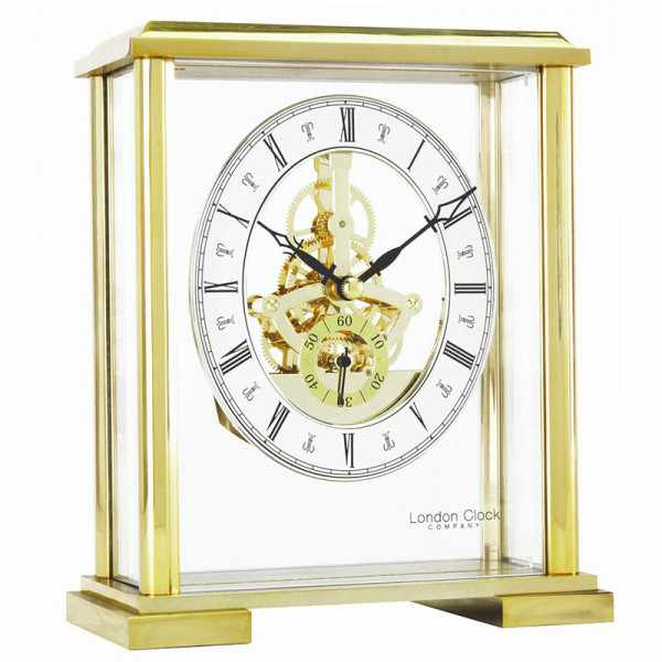 LONDON CLOCK, Skelett, Tischuhr, Quartz_12921