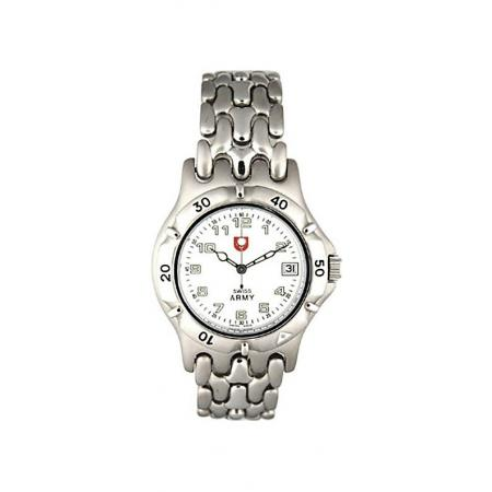SWISS ARMY, Spirit Small, Quartzuhr, weiss_12938