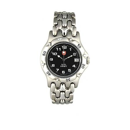 SWISS ARMY, Spirit Small, Quartzuhr, schwarz