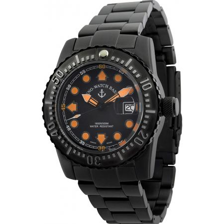 ZENO-WATCH BASEL, Airplane Diver, XL Taucheruhr Automatik, schwarz_13814