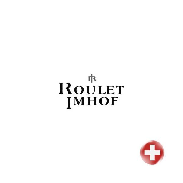 JEAN ROULET, Art et Temps, Walter Mafli, Tischuhr Quartz, vergoldet_13887