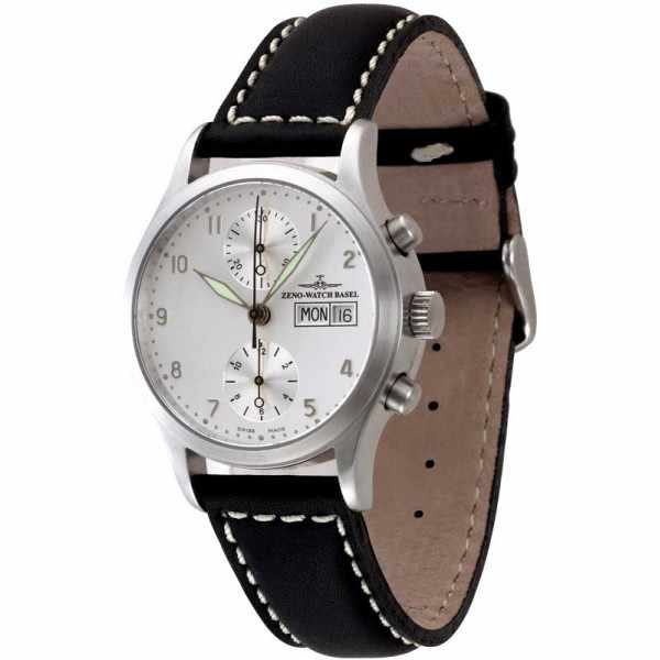 ZENO-WATCH BASEL, Retro Chronographia, Automatik Chronograph_1393