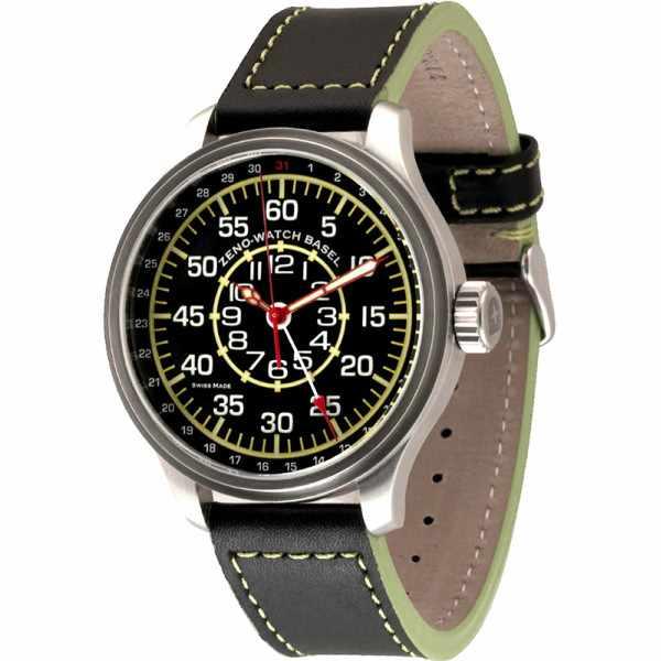 ZENO-WATCH BASEL, Pilot Oversized XL Observer Zeigerdatum_13934