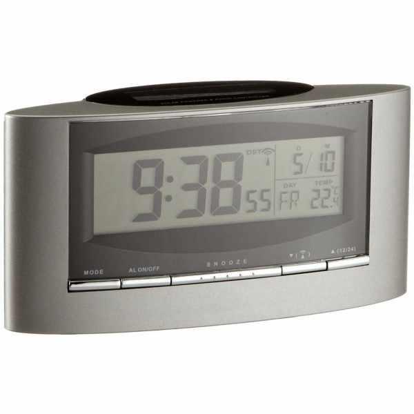 TFA, Thermo-Date LCD Solar Funkwecker Temperaturanzeige_1406