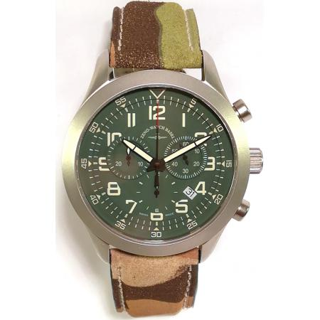 ZENO-WATCH BASEL, Pilot  Precision, Quartz Chrono, Camouflage_14425
