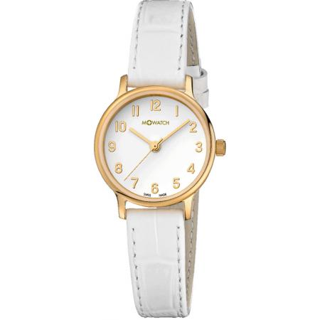 M-WATCH, Elegance 25, Swiss Quartzuhr, weiss