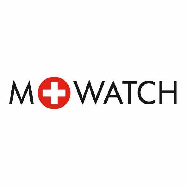 M-WATCH Maxi 42, Schweizer XL Quartzuhr, rot_14611
