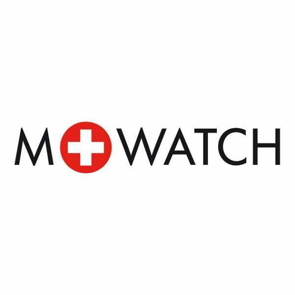 M-WATCH Maxi 42, Schweizer XL Quartzuhr, rot_14611