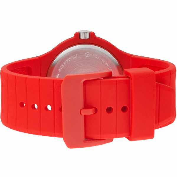M-WATCH Maxi 42, Schweizer XL Quartzuhr, rot_14642