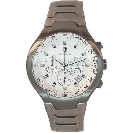 RENDEX, Tachymeter Chronograph Titan Quartzuhr