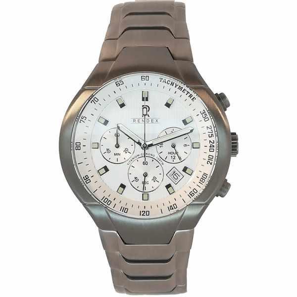 RENDEX, Tachymeter Chronograph Titan Quartzuhr_14729