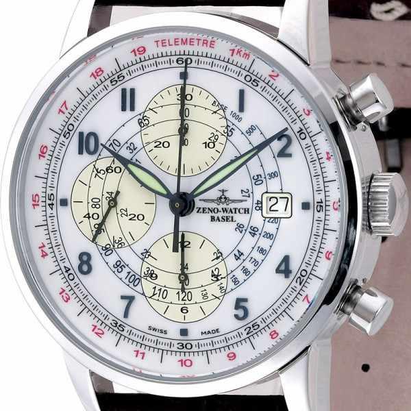 ZENO-WATCH BASEL, Telemeter Automatik Chronograph_14792
