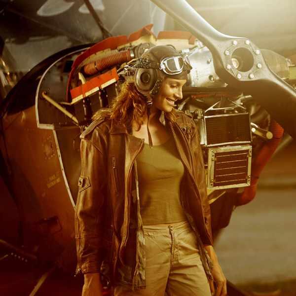 ZENO-WATCH BASEL, Pilot Lady, Automatik Fliegeruhr, schwarz_14887