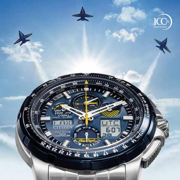 CITIZEN Blue Angels Promaster, Super Skyhwak, Eco Drive Funkuhr_15022