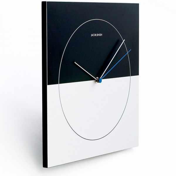 JACOB JENSEN Wall Clock Classic, Designer Quartz Wanduhr_15054