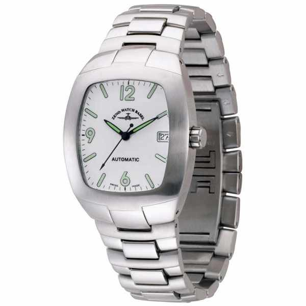 ZENO-WATCH BASEL, Race White, Automatik, weiss_1521