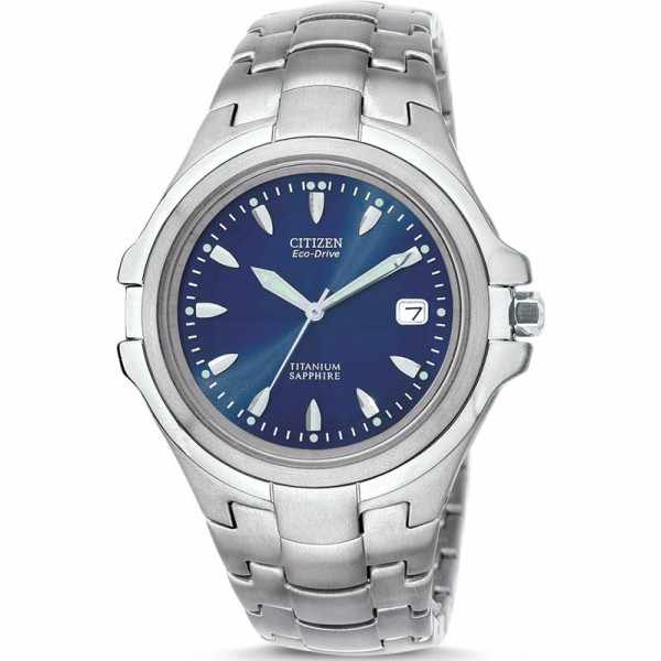 CITIZEN Marinaut Medium, Eco-Drive Solaruhr, Super Titanium, blau_15282