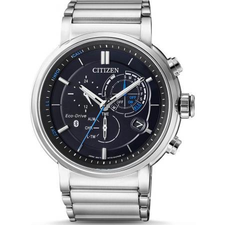 CITIZEN Proximity Bluetooth Smartwatch, EcoDrive Solar, Edelstahl_15292